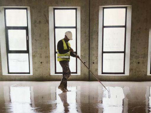 Brugmans Vloeren: nieuwbouw Amphia ziekenhuis
